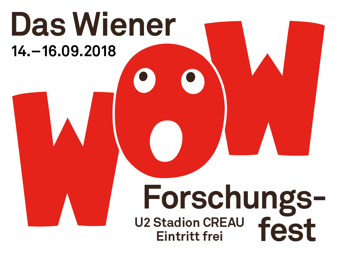 The Vienna Research Festival from 14.-16. September 2018 in the Creau